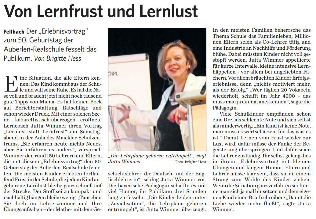 2014-11-10 Stuttgarter Zeitung