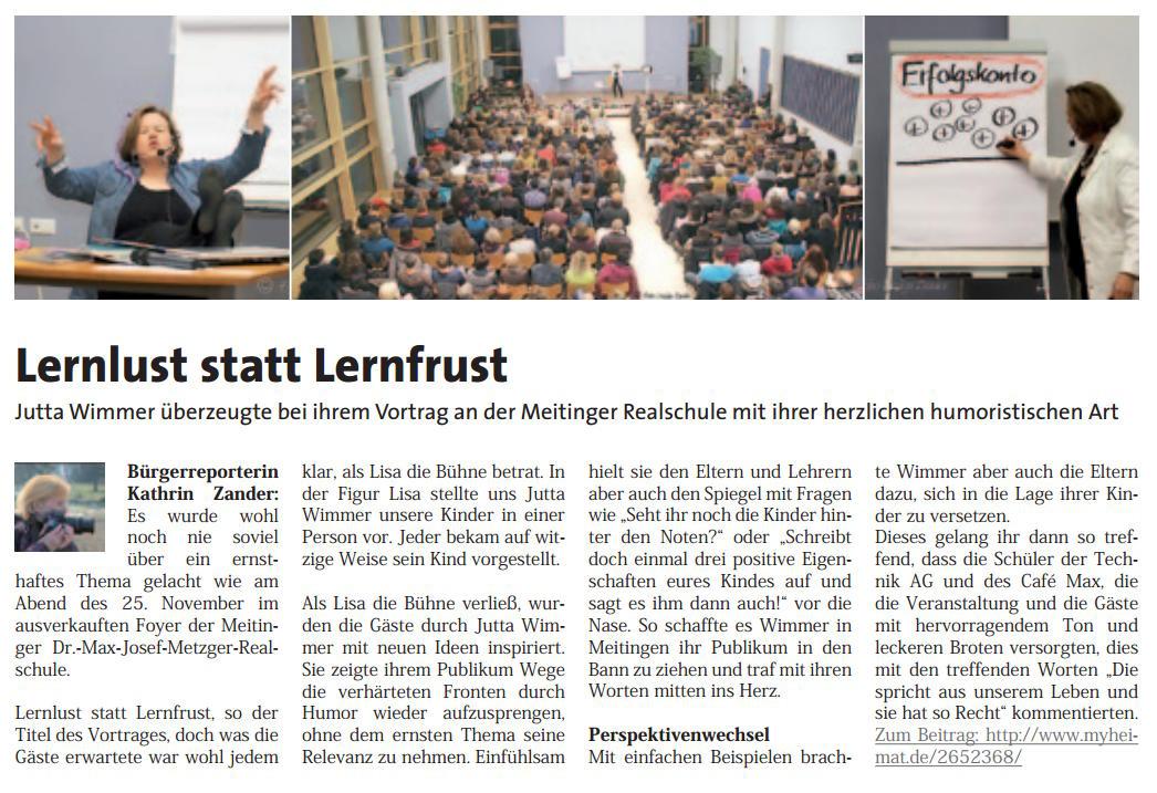 2014 - my heimat Meitingen